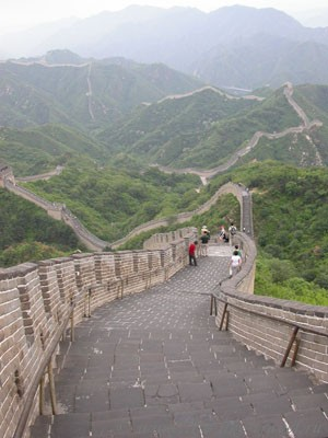 Китай, Пекин. Великая китайская стена