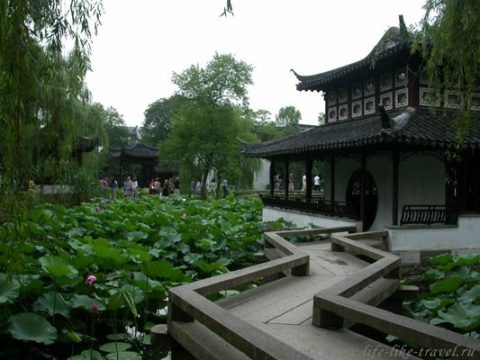 Китай. Сучжоу, сад скромного чиновника