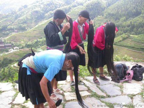 Китай. Пиньян, рисовые террасы, деревни дао