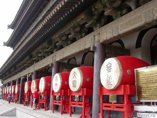 Китай. Сиань, Башня барабанов
