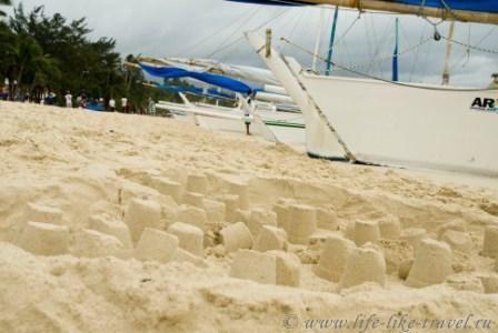 Филиппины, остров Боракай, Белый пляж