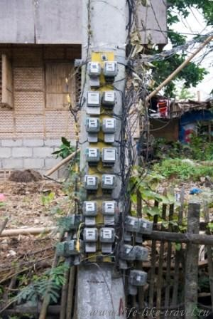 Филиппины, остров Боракай, за услуги ЖКХ платим!