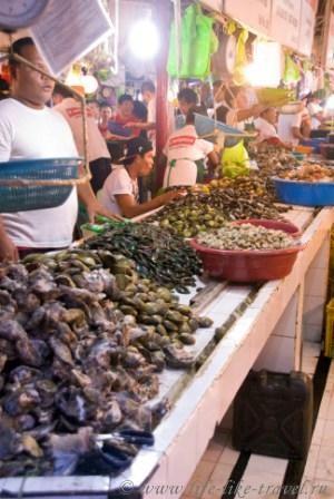Филиппины, остров Боракай, рынок Талипапа