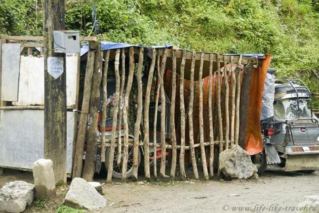 Филиппины, Банауэ, провинция Ифугао, гаражик