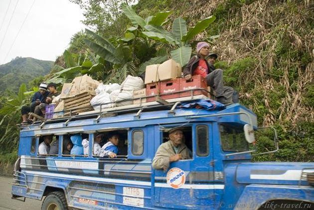 Филиппины, Банауэ, провинция Ифугао, джипни