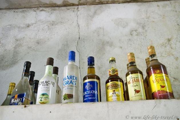 Филиппины, Талисай, ассортимент деревенского магазина