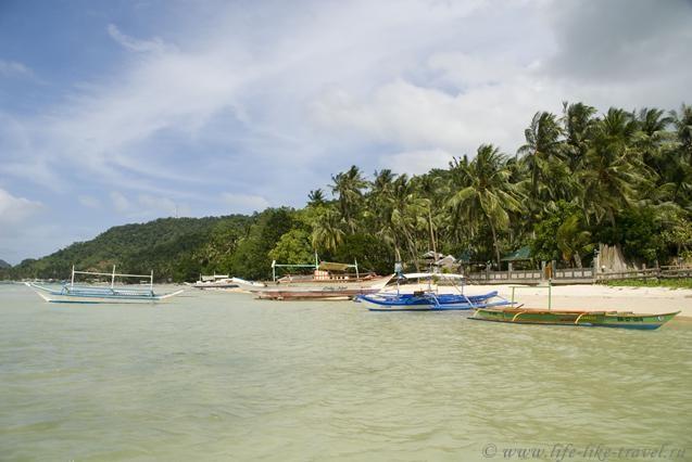 Филиппины, остров Палаван, Эль Нидо, пляж Корон-Корон