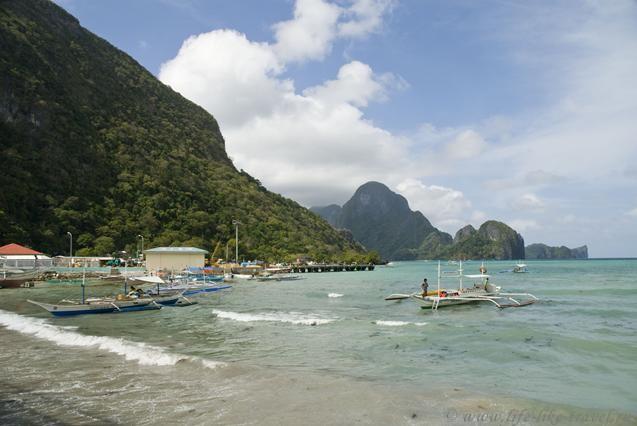 Филиппины, остров Палаван, Эль Нидо, пляж Бакит
