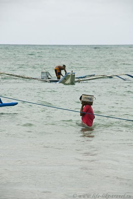 Филиппины, остров Палаван, Эль Нидо, спасение утопающих - дело рук самих утопающих