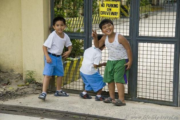 Филиппины, остров Палаван, Эль Нидо, весельчак