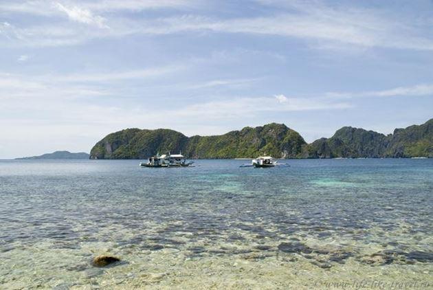 Филиппины, остров Палаван, Эль Нидо, Острова и лагуны бухты Бакит