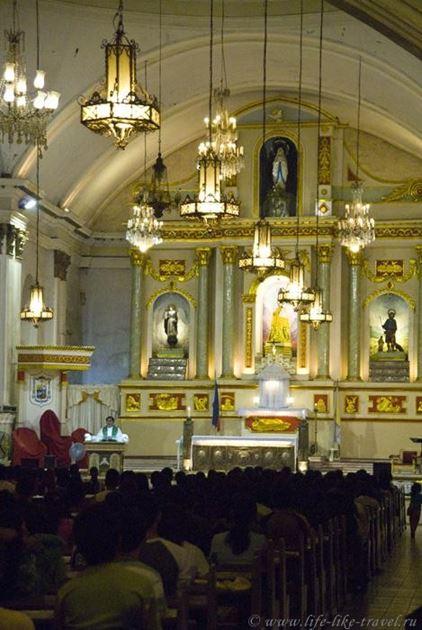Филиппины, остров Бохол, Кафедральный собор Тагбиларана