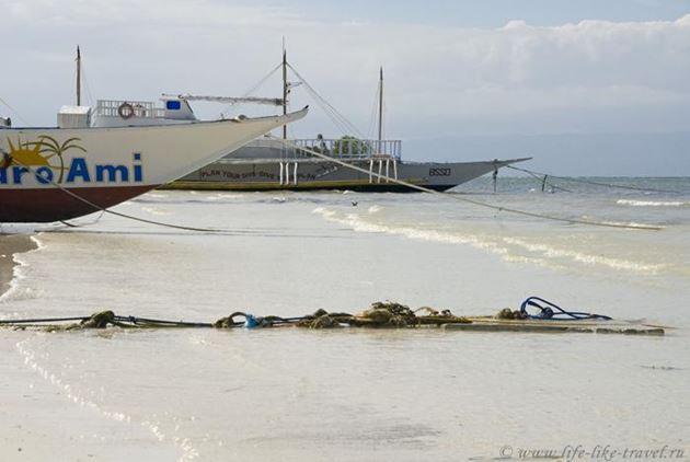 Филиппины, Бохол, пляж Панглао