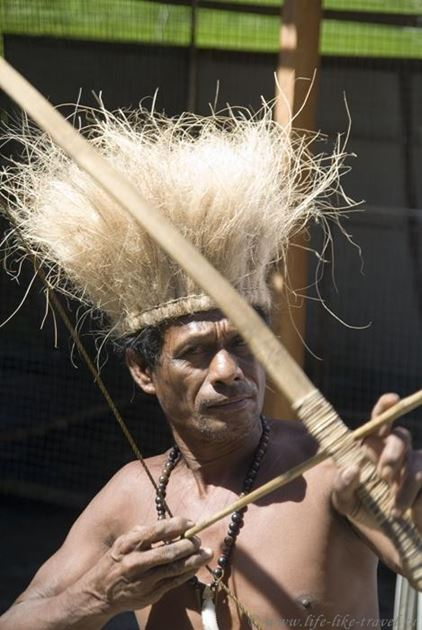 Филиппины, остров Бохол, Аборигены для туристов