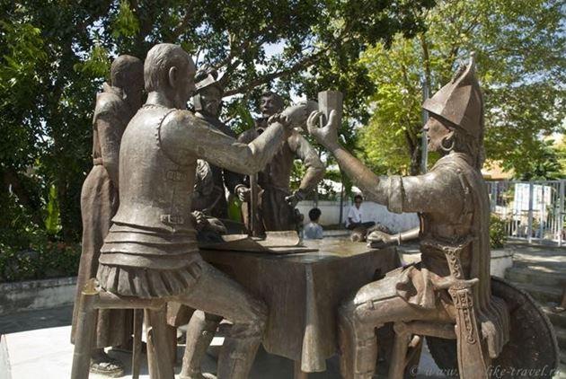 Филиппины, остров Бохол, мемориал в честь подписания договора Испанцами