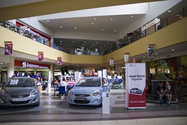 Торговый центр Робинзон, Думагете, остров Негрос, Филиппины