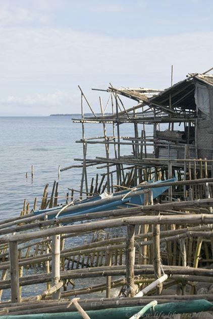 Спуск лодок на воду, Лоок, остров Негрос, Филиппины