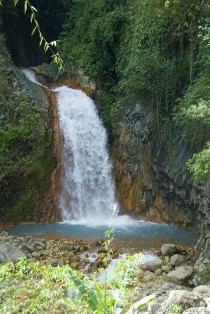 Водопад Малабо, Валенсия, остров Негрос, Филиппины