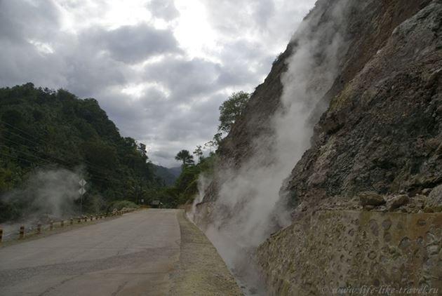 Горячие источники, Думагете, остров Негрос, Филиппины