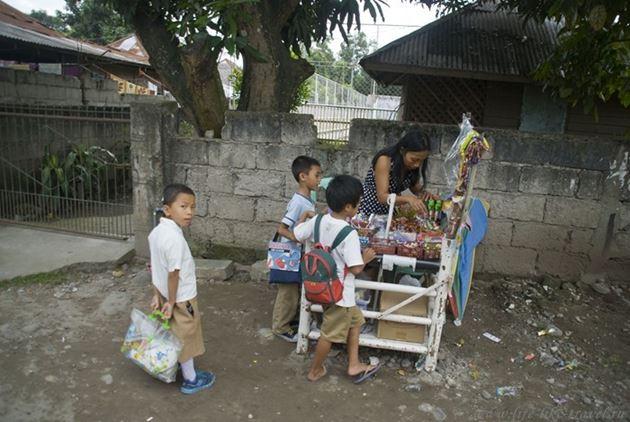 Школьники, Думагете, Филиппины