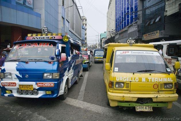 Джипни Себу, Филиппины