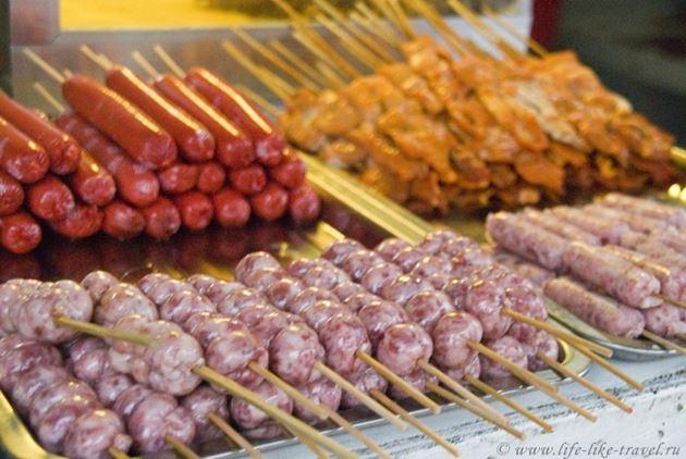 Типичная филиппинская еда - барбекю, Филиппины
