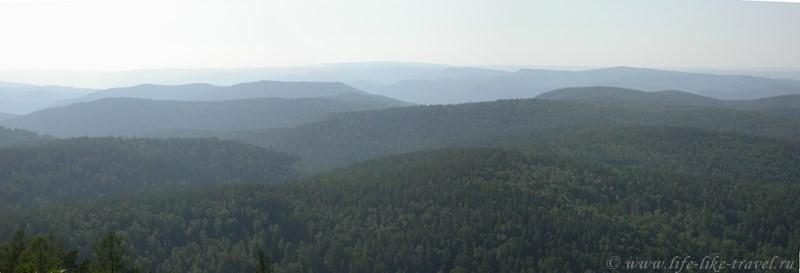 Панорама Красноярья