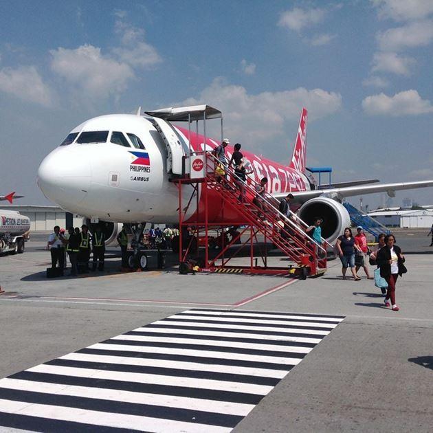 Самолет компании Эйр Эйша, Филиппины