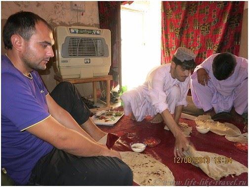 В гостях у афганской семьи
