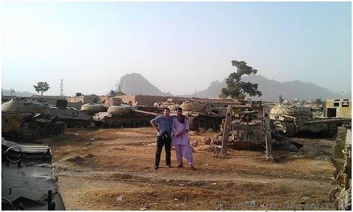 Кладбище военной техники, Кандагар