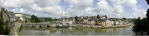 Оре, Аббей Сен Гюстан, Франция