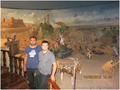 Военный музей Герата, Афганистан