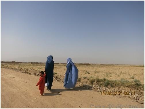Деревенская жизнь, Афганистан