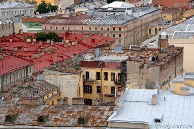 Прогулки по питерским крышам и анти-кафе