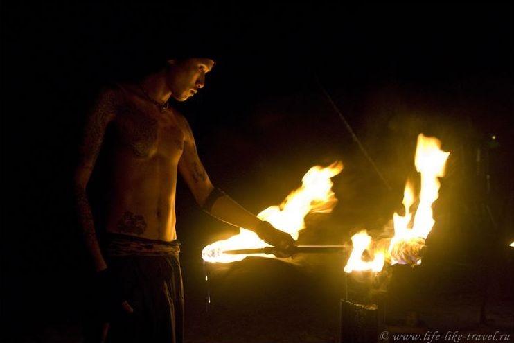 Танцы с огнем - файеры