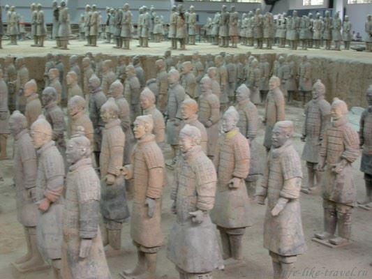 Терракотовая армия, Сиань