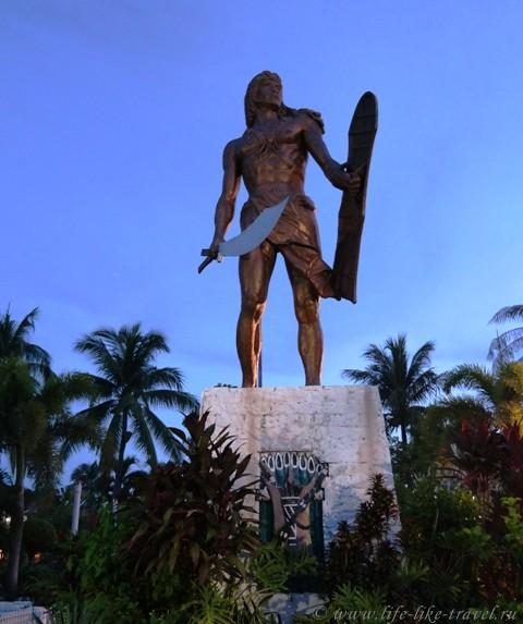 Памятник Лапу Лапу в Себу