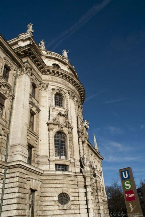 Дворец юстиции, Мюнхен