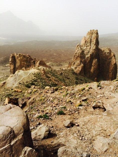 Достопримечательности Тенерифе вулкан Тейде, лунный пейзаж