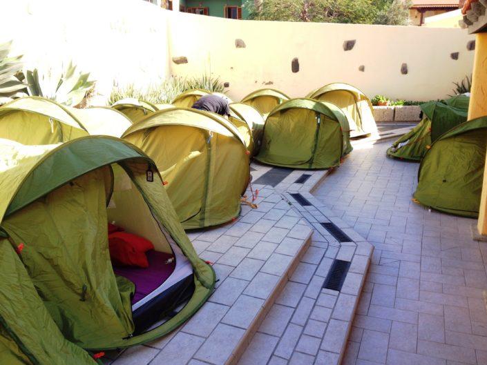 Мой опыт аренды дешевого жилья в Испании, Тенерифе, палаточный хостел
