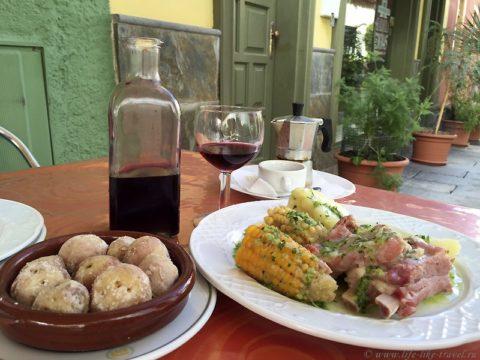 Зима на Тенерифе, кухня островитян