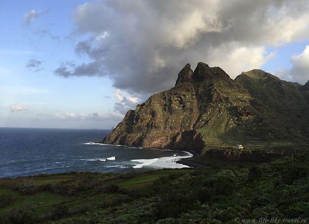 Зима на Тенерифе, Атлантический океан и горы