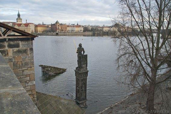 Прага Марины Цветаевой: рыцарь Брунсвик у Карлова моста