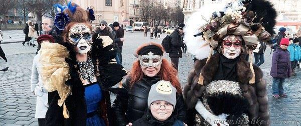 Пражский карнавал и бал-маскарад «Хрустальный шар»