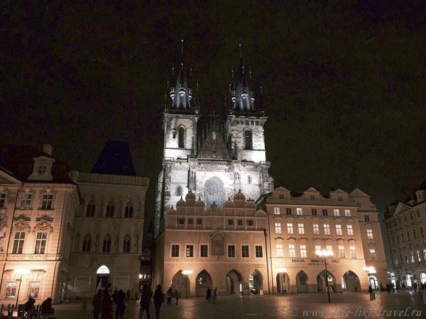 Прага Марины Цветаевой: Староместская плащадь