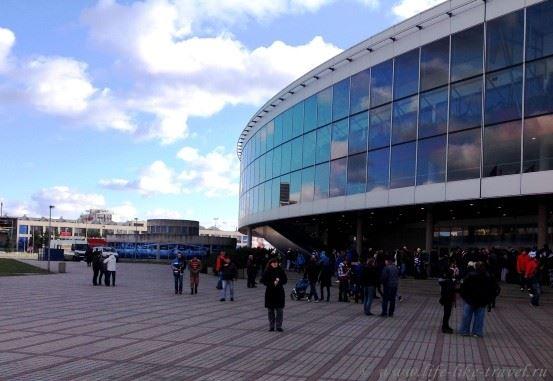 Ледовая арена в Праге