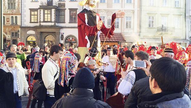 Масопуст карнавал Прага