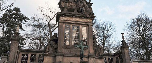 Вышеград кладбище Славин Прага