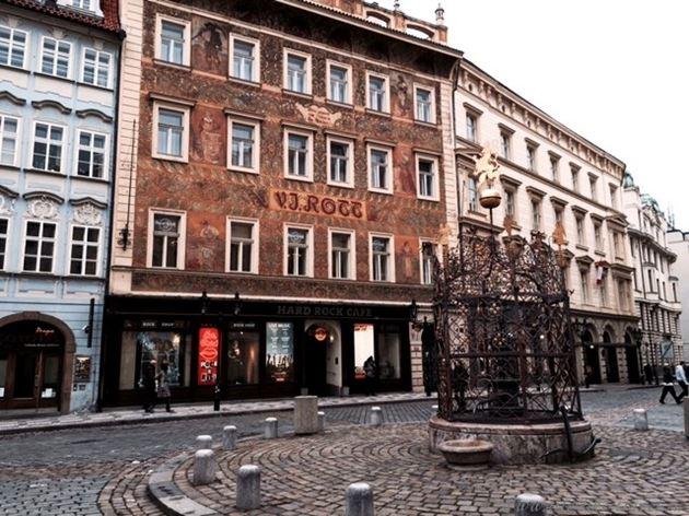 Прогулка по Праге: Роттов дом