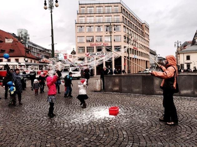 Прогулка по Праге: Площадь Республики